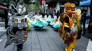 Entrada folclórica Boliviana