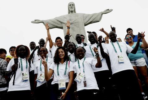 ¿Quiénes son y en qué compiten los 10 refugiados que participan en Río 2016?