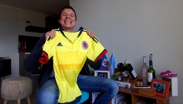 (Video) El porqué si nací en Colombia ahora soy chileno