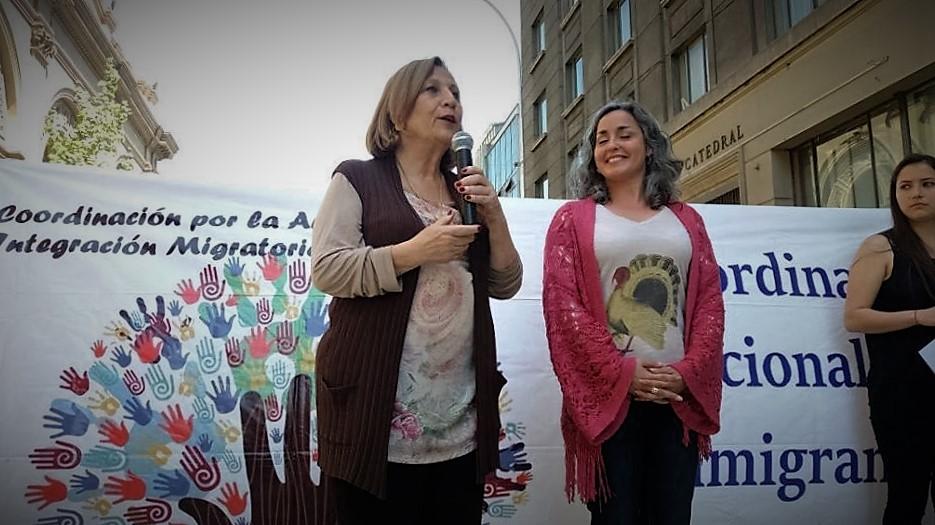 Helia Molina: «Mi compromiso con Ñuñoa es crear una oficina de migrantes que hoy no existe»