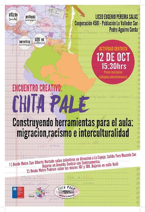 ENCUENTRO CREATIVO CHITA PALE: SE ABRE UN MAPA DE CONVERSACIÓN.