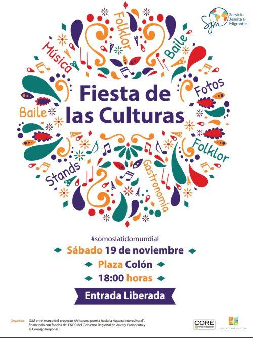 Arica se viste de Fiesta para celebrar la interculturalidad