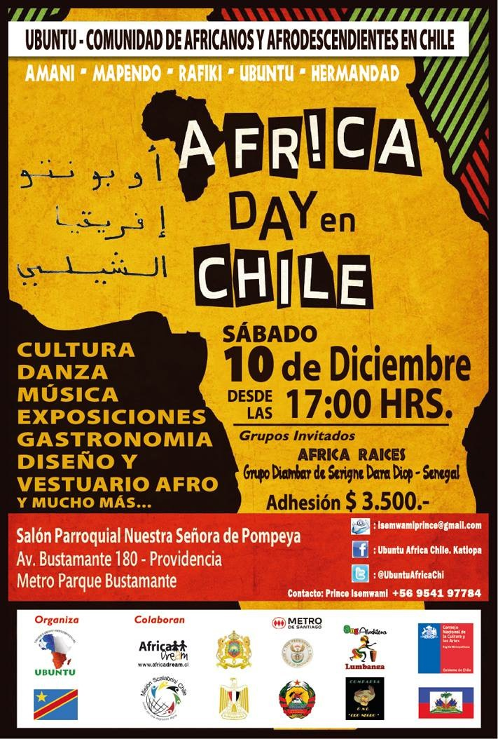 África Day Chile 2016