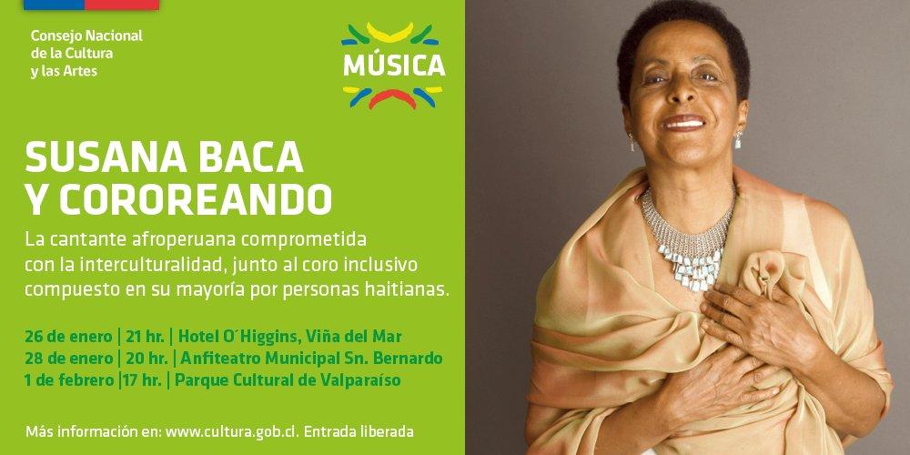 Susana Baca en Chile