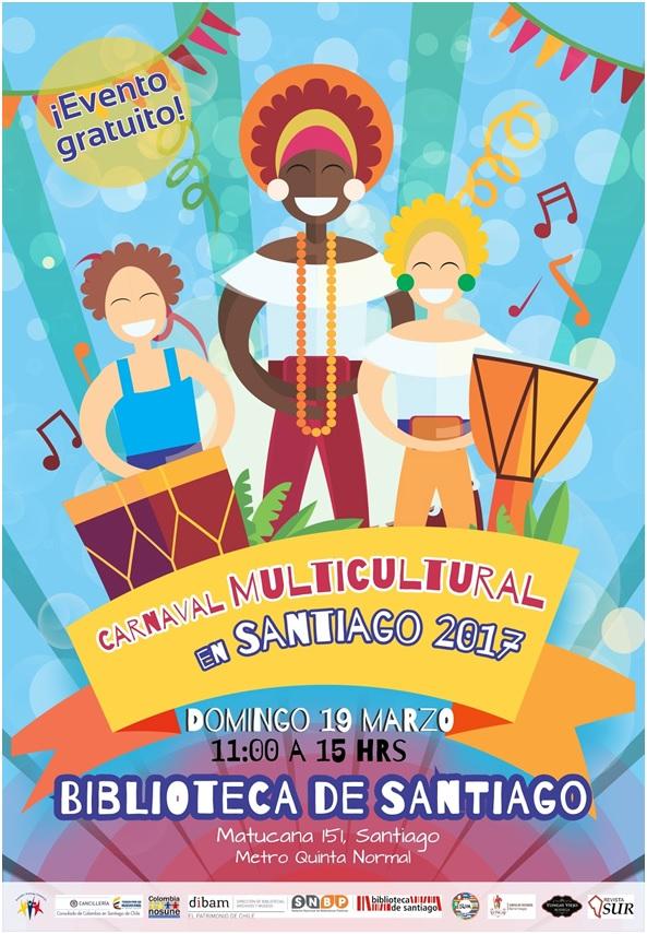 CARNAVAL MULTICULTURAL EN SANTIAGO