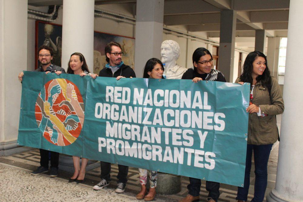 Red de organizaciones migrantes y promigrantes inició su trabajo nacional con la Alcaldía Ciudadana
