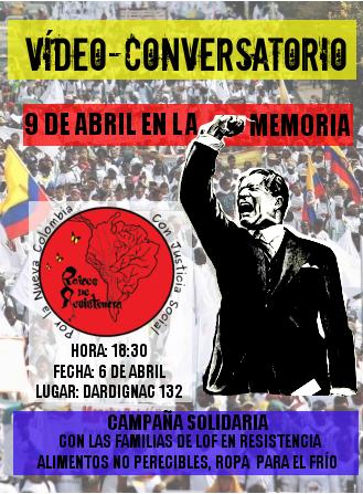 Organizan acto en memoria de las victimas del conflicto colombiano