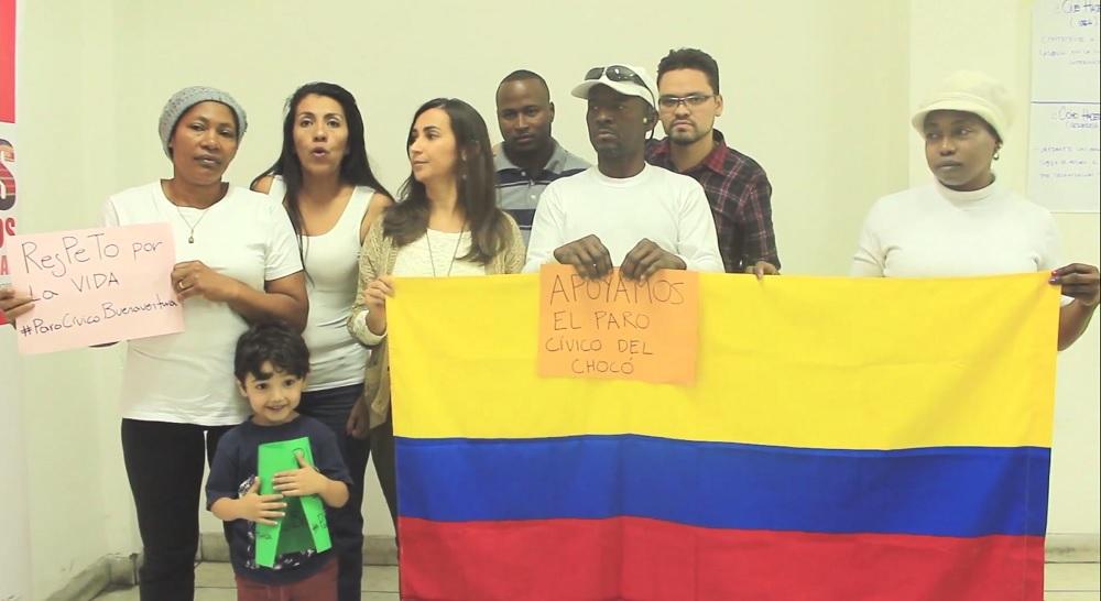 Apoyo paro cívico de Buenaventura y Chocó