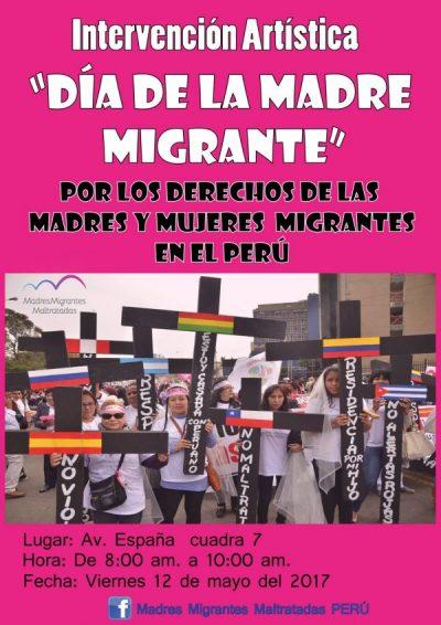 Día de la Madre Migrante en Perú