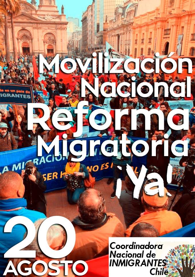 MOVILIZACIÓN NACIONAL POR UNA REFORMA MIGRATORIA