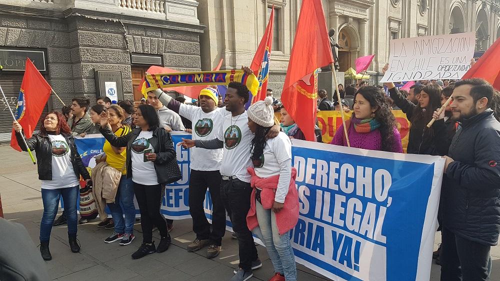 Los migrantes marcharon por una Reforma Migratoria