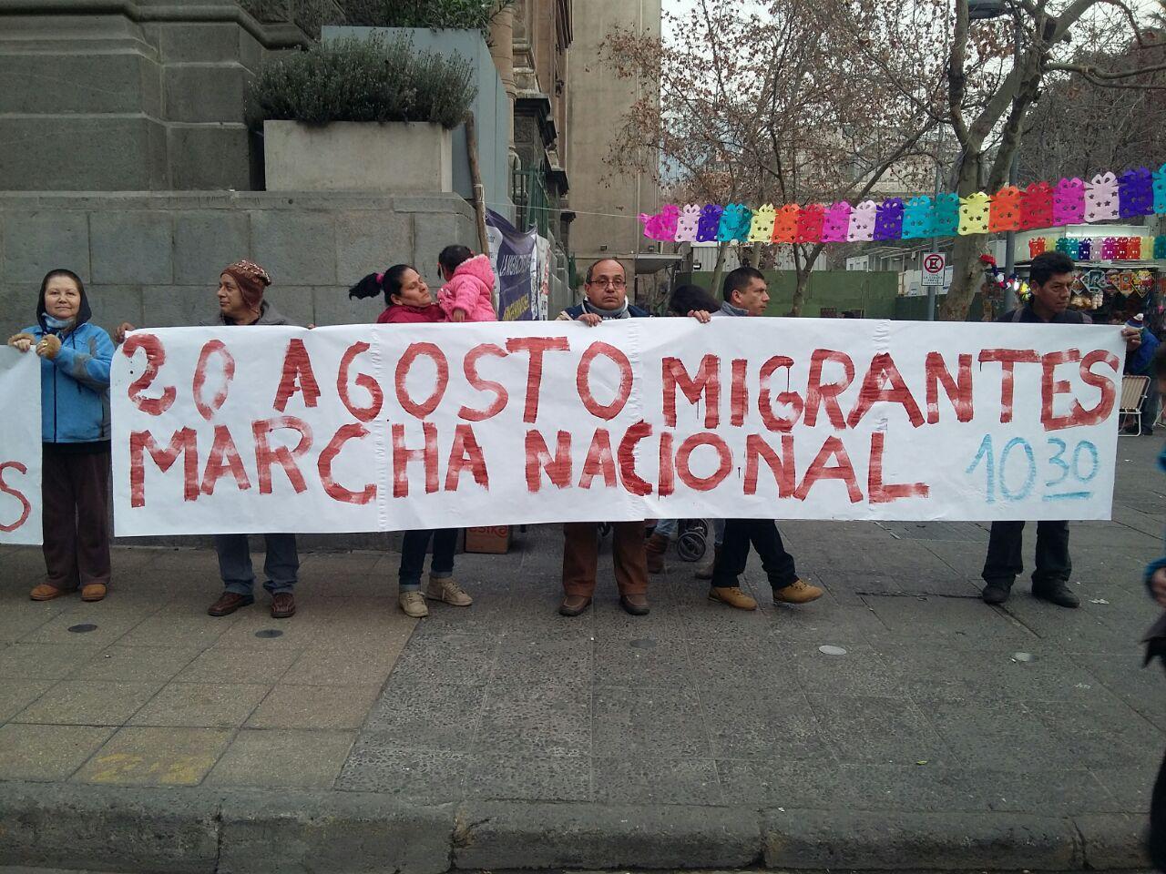 20 DE AGOSTO MOVILIZACIÓN NACIONAL POR UNA REFORMA MIGRATORIA