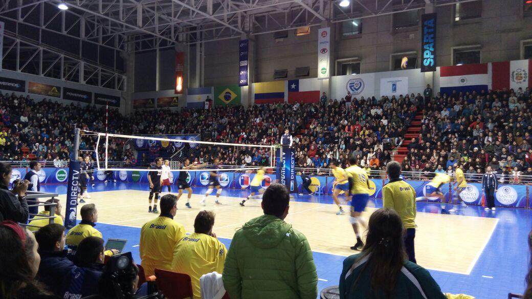 Brasil se impuso en la final del Campeonato Sudamericano Masculino Adulto de Voleibol