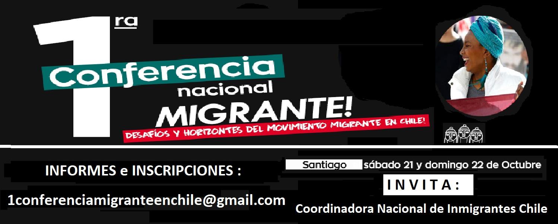 Primera Conferencia Nacional de Inmigrantes en Chile