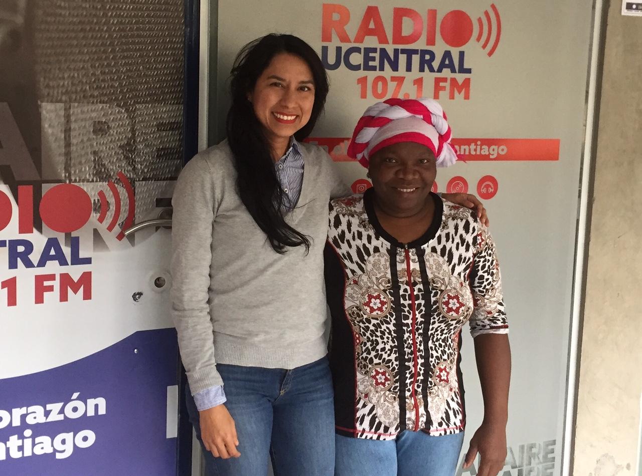 La Embajadora Gastronómica del Pacífico Colombino conversa con Salsa al Parque
