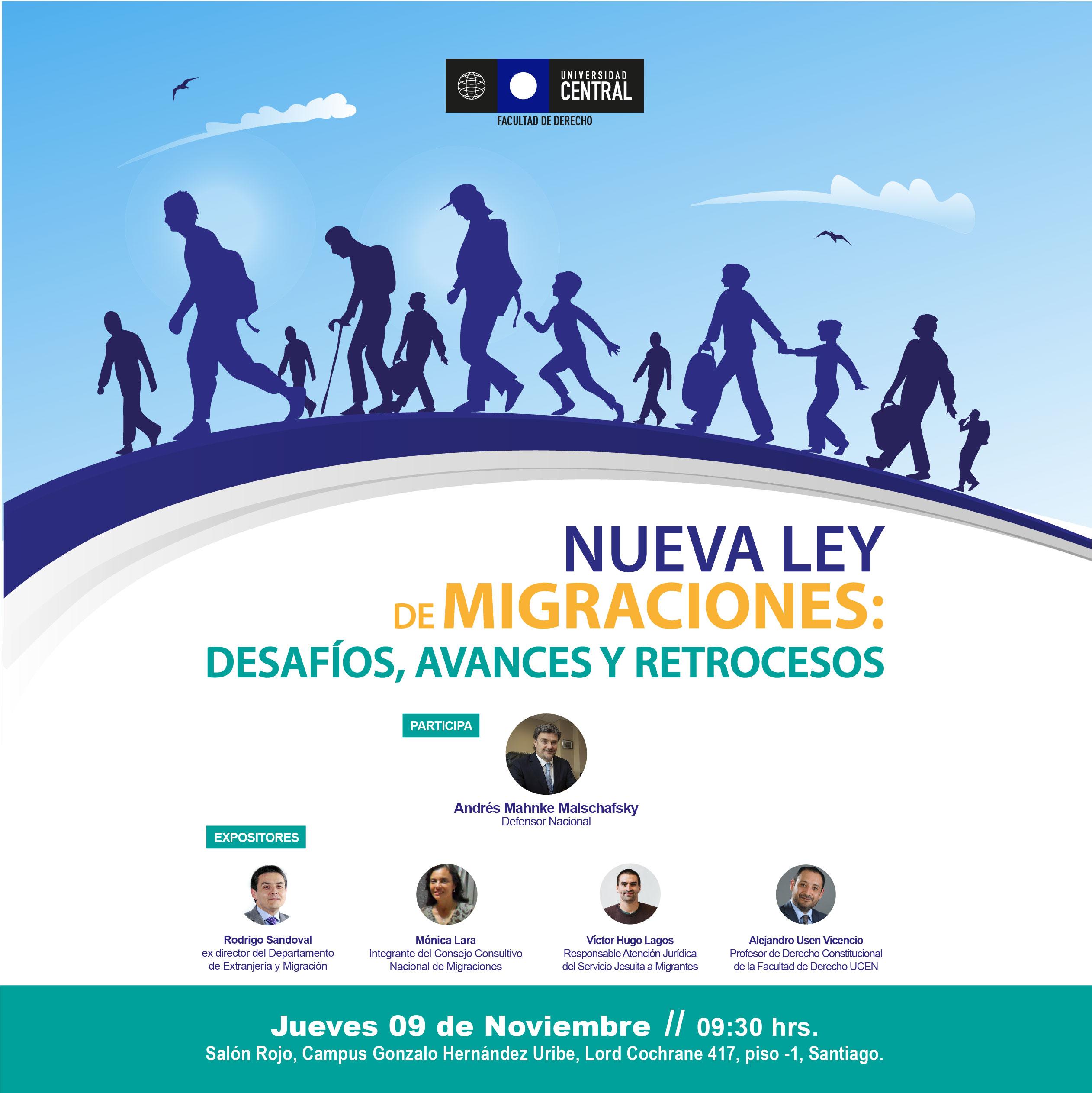 Seminario «Nueva Ley de Migraciones: Desafíos, avances y retrocesos»