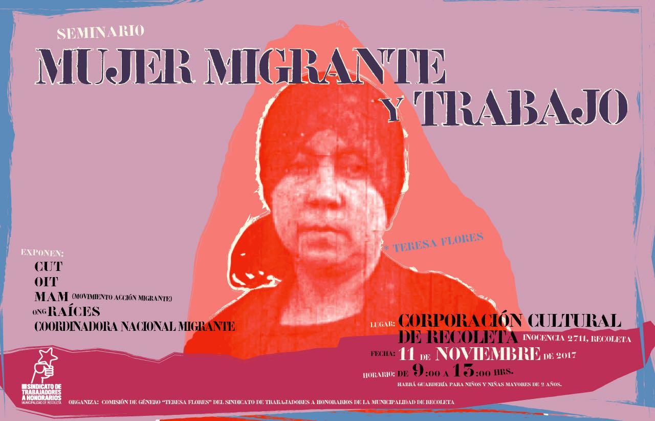 Realizarán seminario sobre mujer migrante y trabajo