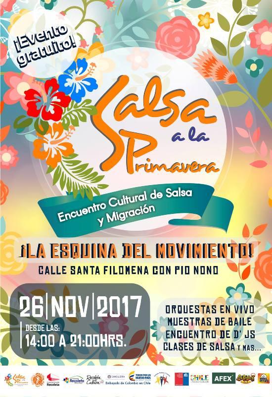 Encuentro Cultural de Salsa y Migración Salsa a la Primavera 2017
