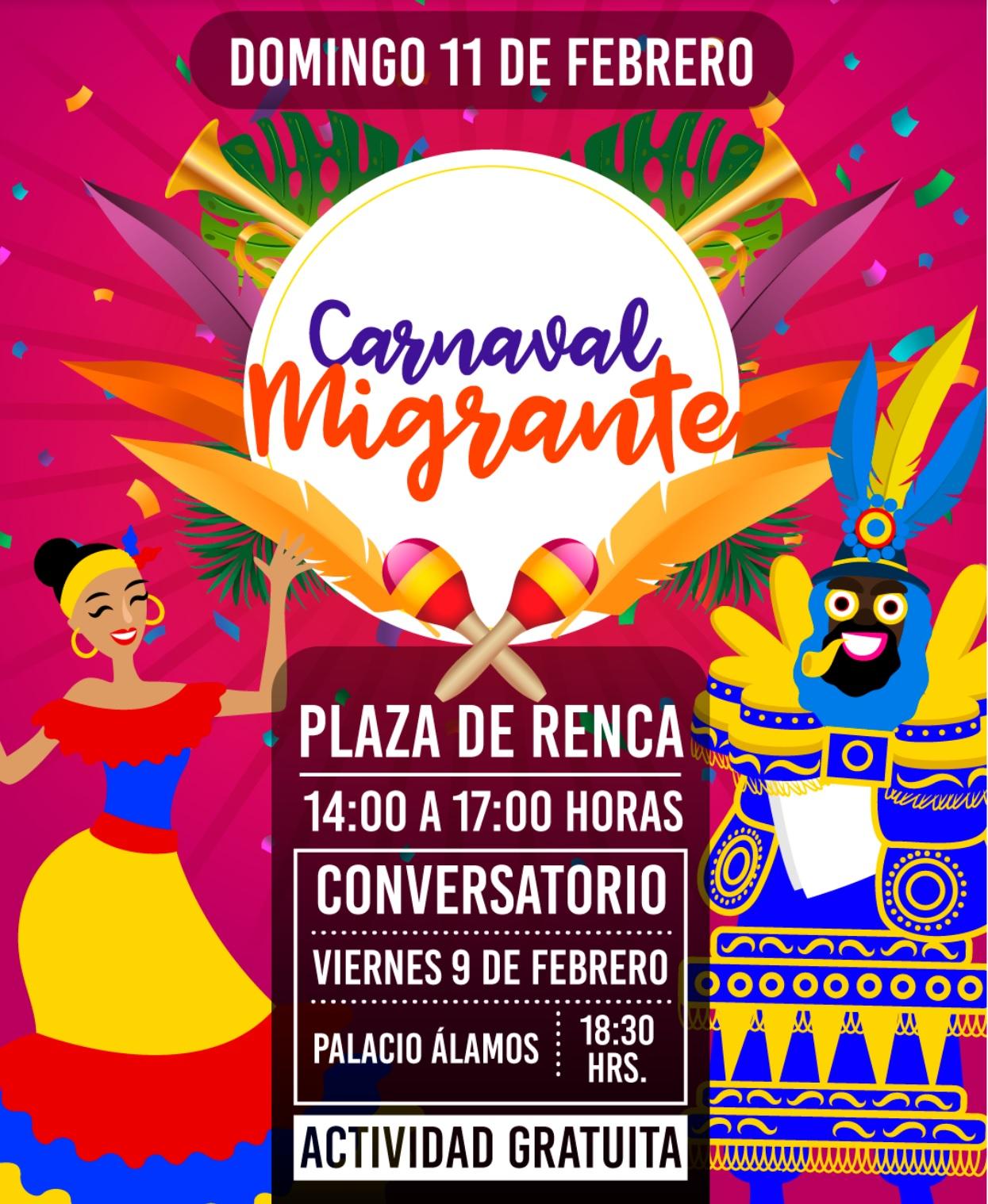 Carnaval Latinoamérica Migrante