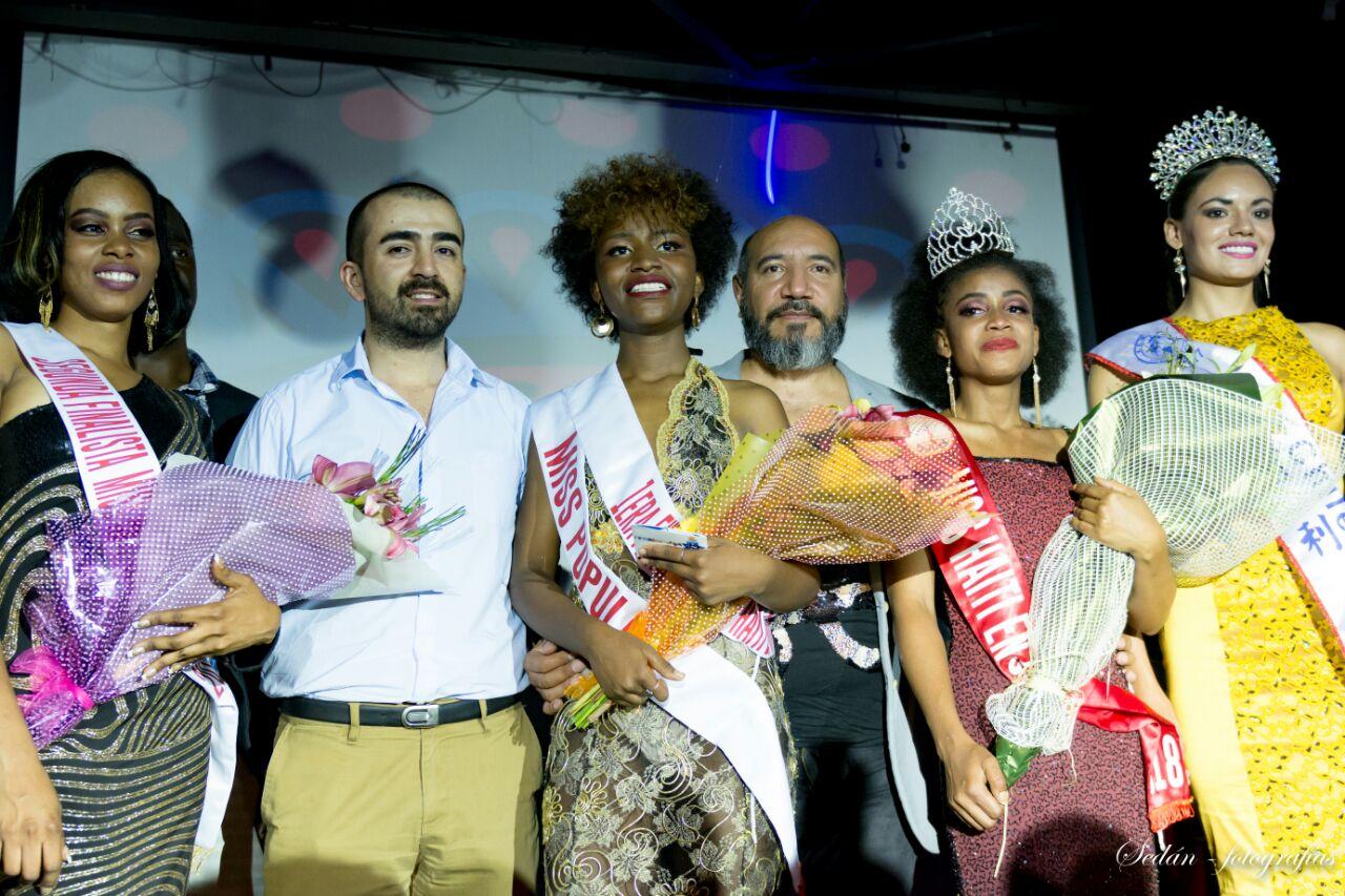 Gran Final del Miss Haití en Chile: Merciliane Jn Rosier, Primera Reina de belleza haitiana en Chile.