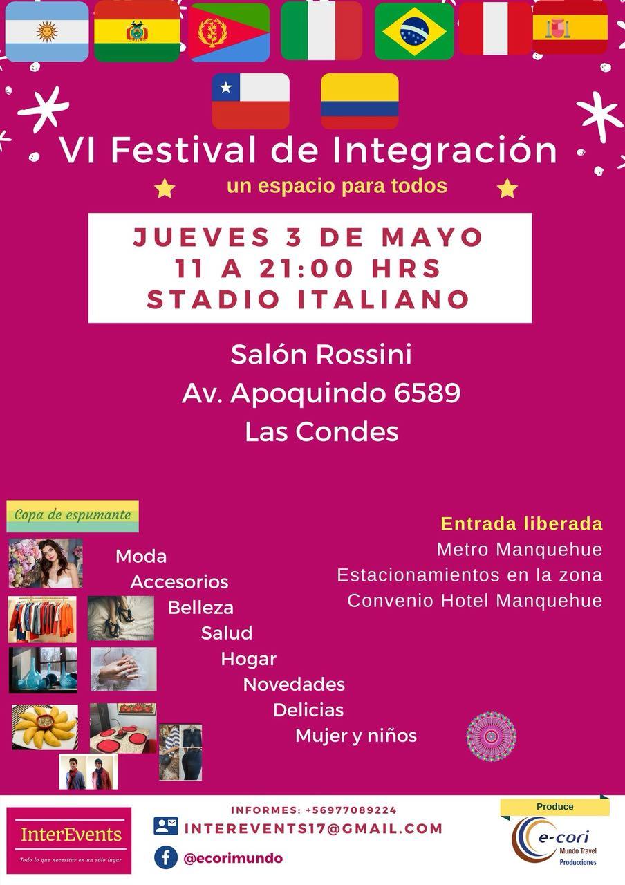 VI Festival de integración