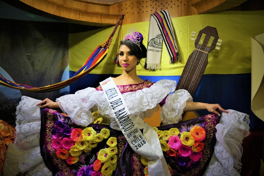 Festival y Reinado del Bambuco en Santiago de Chile