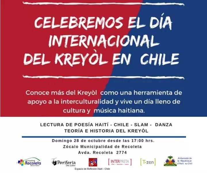 Convocan a celebrar el Día internacional del creole en Recoleta