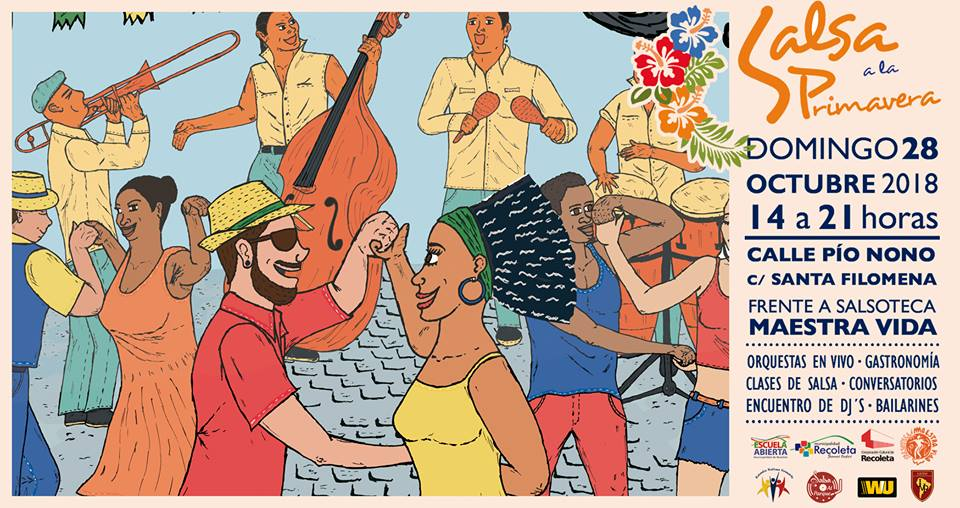 """VII Encuentro Cultural de Salsa y Migración """"Salsa a la Primavera 2018"""""""