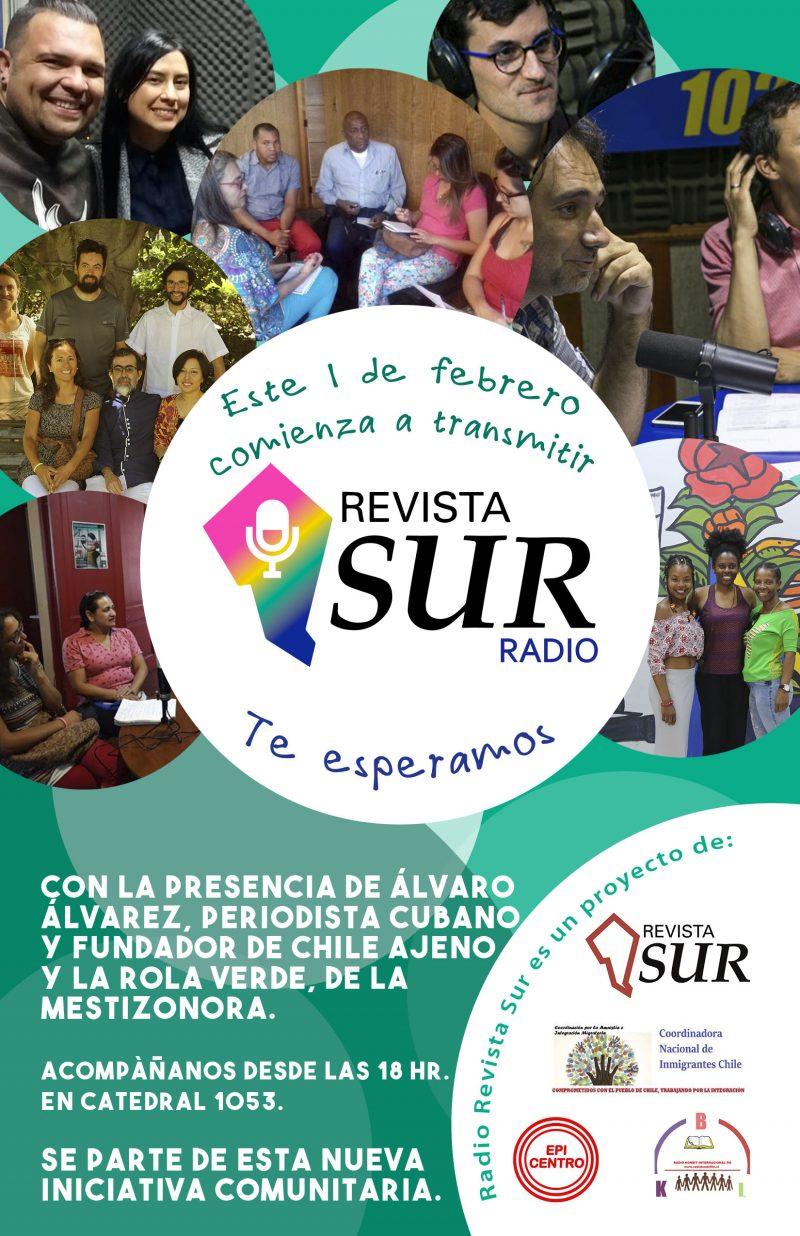 Comienzan las transmisiones de Radio Revista Sur