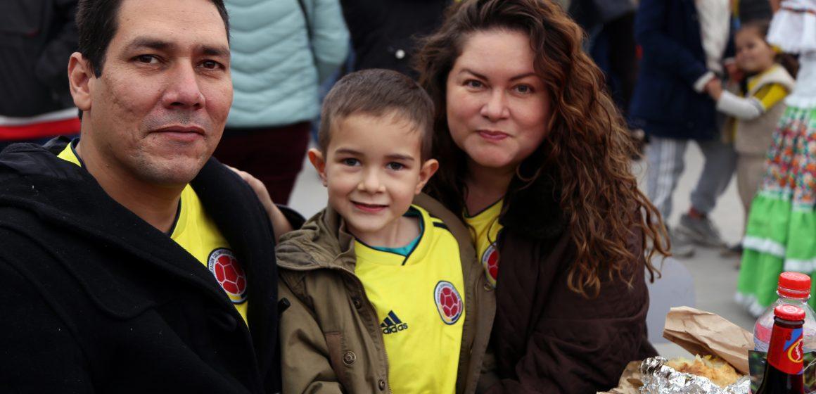 En Chile: Así se vivió la celebración de las fiestas patrias colombianas