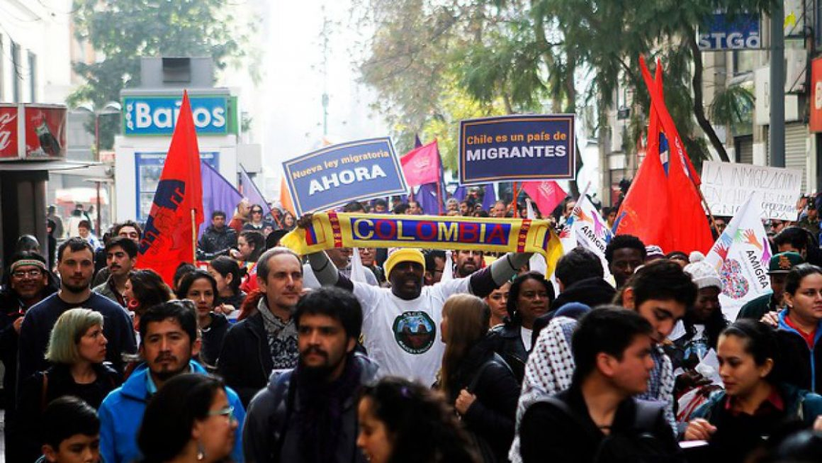 """""""Sin derechos No"""", la exigencia ante nueva ley de migraciones"""
