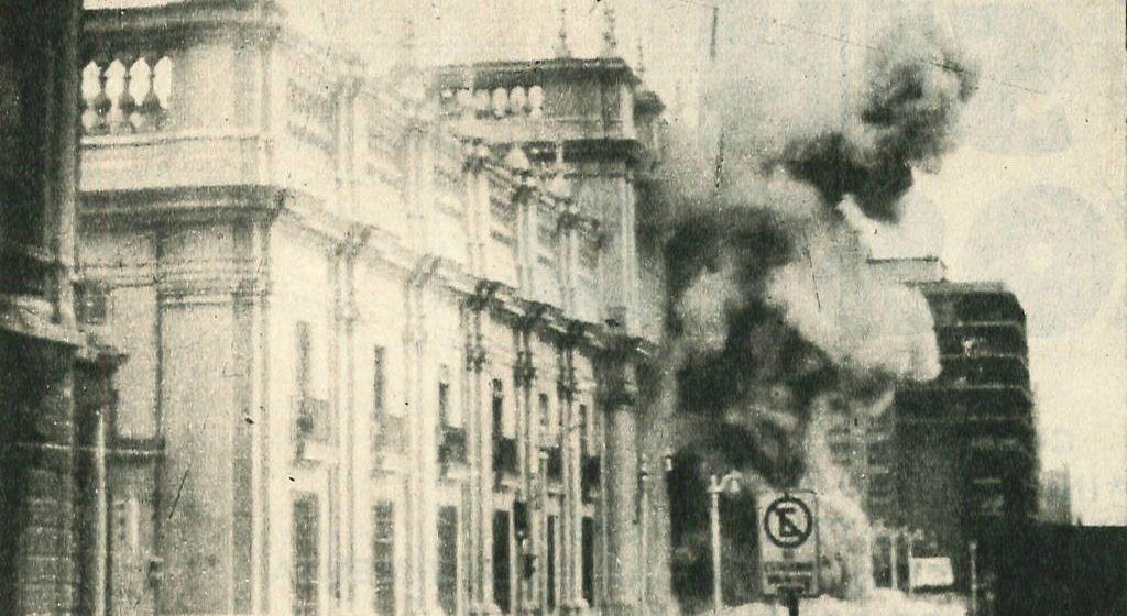 El golpe de la derecha contra Allende el 11 de septiembre del 73: una reacción rabiosa y copiona de la Inquisición