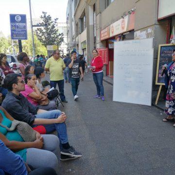 Migrantes continúan consolidando demandas sociales, como parte de los cabildos autoconvocados
