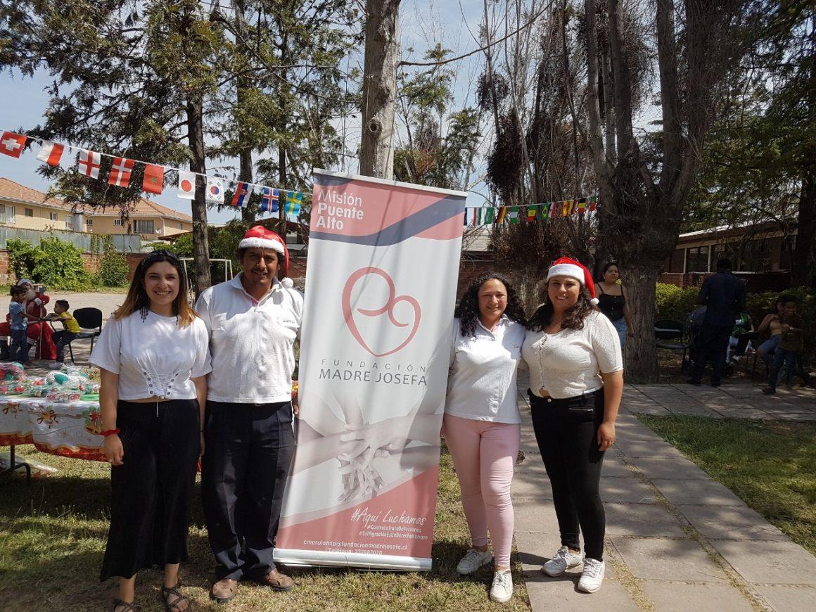 Fundación Madre Josefa festejó la navidad el 18 de diciembre, día internacional del migrante