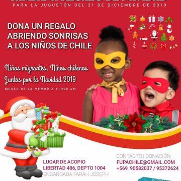 Fundación Urgencia País realiza por tercera vez su campaña regalo de navidad