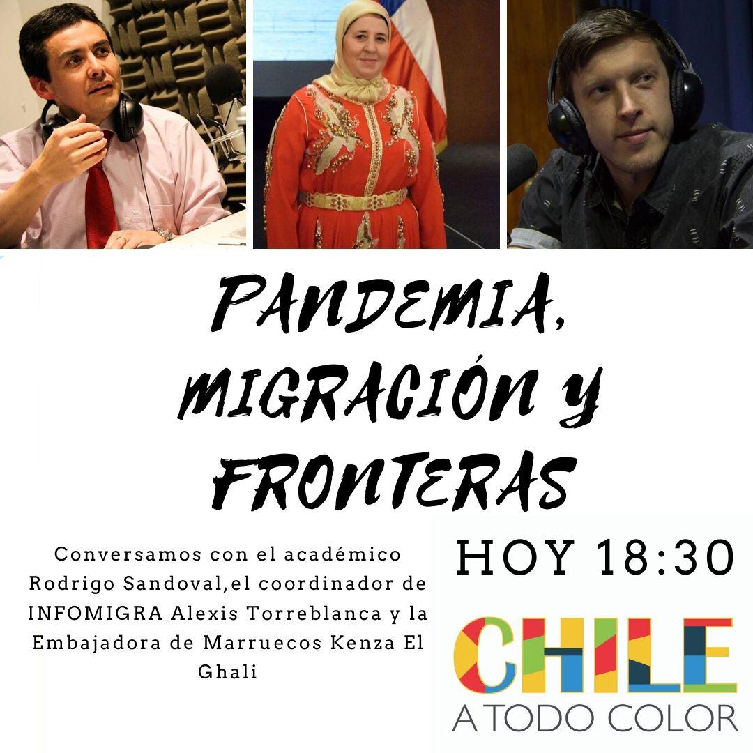 Chile a Todo Color en Cuarentena «Pandemia, Migración y Fronteras»