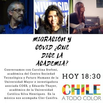 Chile a Todo Color «Académicos analizan el proyecto de Ley de Migraciones»