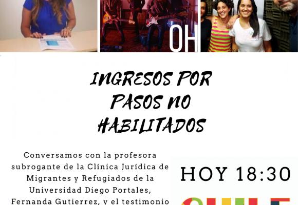 Chile a Todo Color en Cuarentena «Ingresos por pasos no Habiltados»