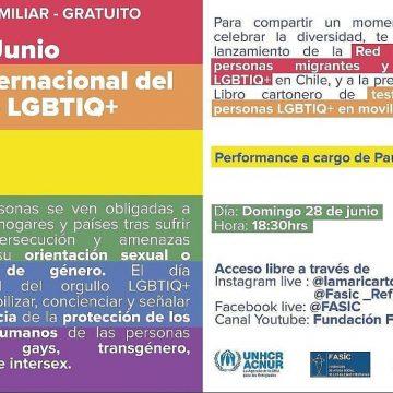Hoy se lanza la primera Red Nacional de Personas Migrantes y Refugiadas LGBTIQ+  en Chile