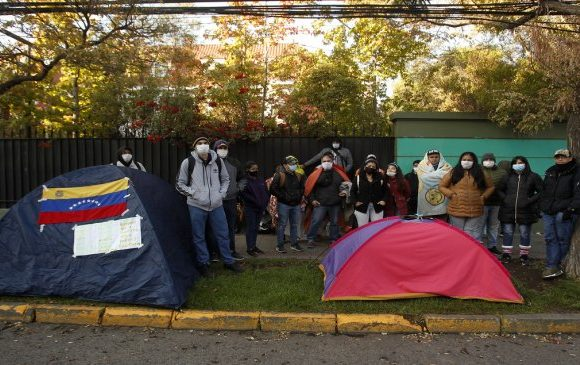 Un fallecido y más de 25 personas contagiadas de coronavirus se registran en albergue para extranjeros en Providencia