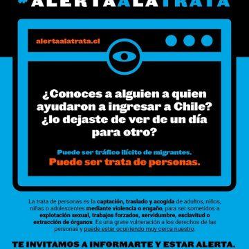 La trata de personas es un delito que en Chile sí existe