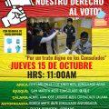 Declaración pública de organizaciones de Residentes bolivianos en sobre la suspensión del voto en el norte de Chile