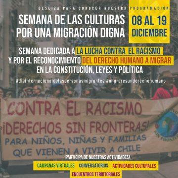 Comenzó la Semana de las Culturas «por una migración digna»