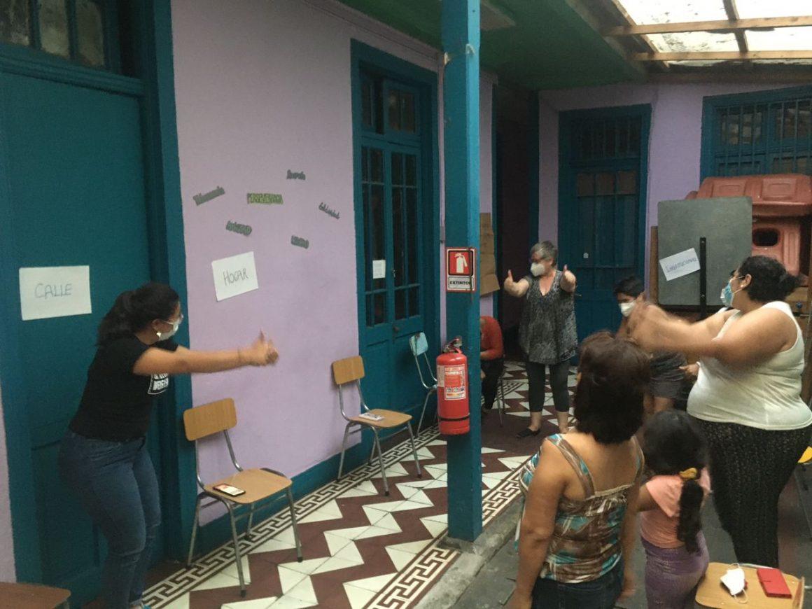 Mujeres migrantes y refugiadas se unieron en contra de la violencia