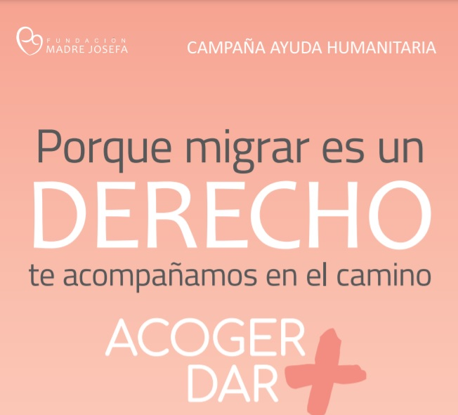 """Lanzan campaña de ayuda a herman@s migrantes del norte: """"ACOGER+ = DAR+"""""""