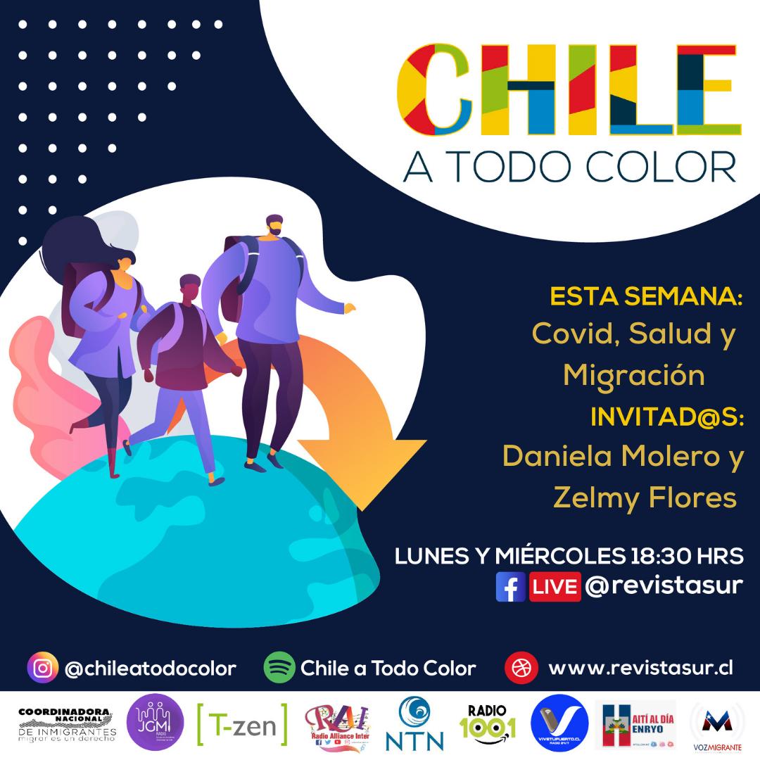 Chile a Todo Color «COVID, Migración y Vacunación»