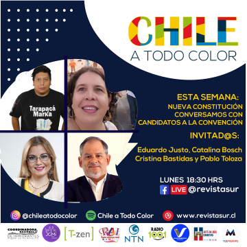 Chile a  Todo Color «Migración e Interculturalidad en la nueva constitución»