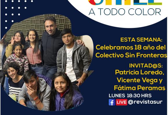 Chile a Todo Color 18 años del Colectivo sin Fronteras