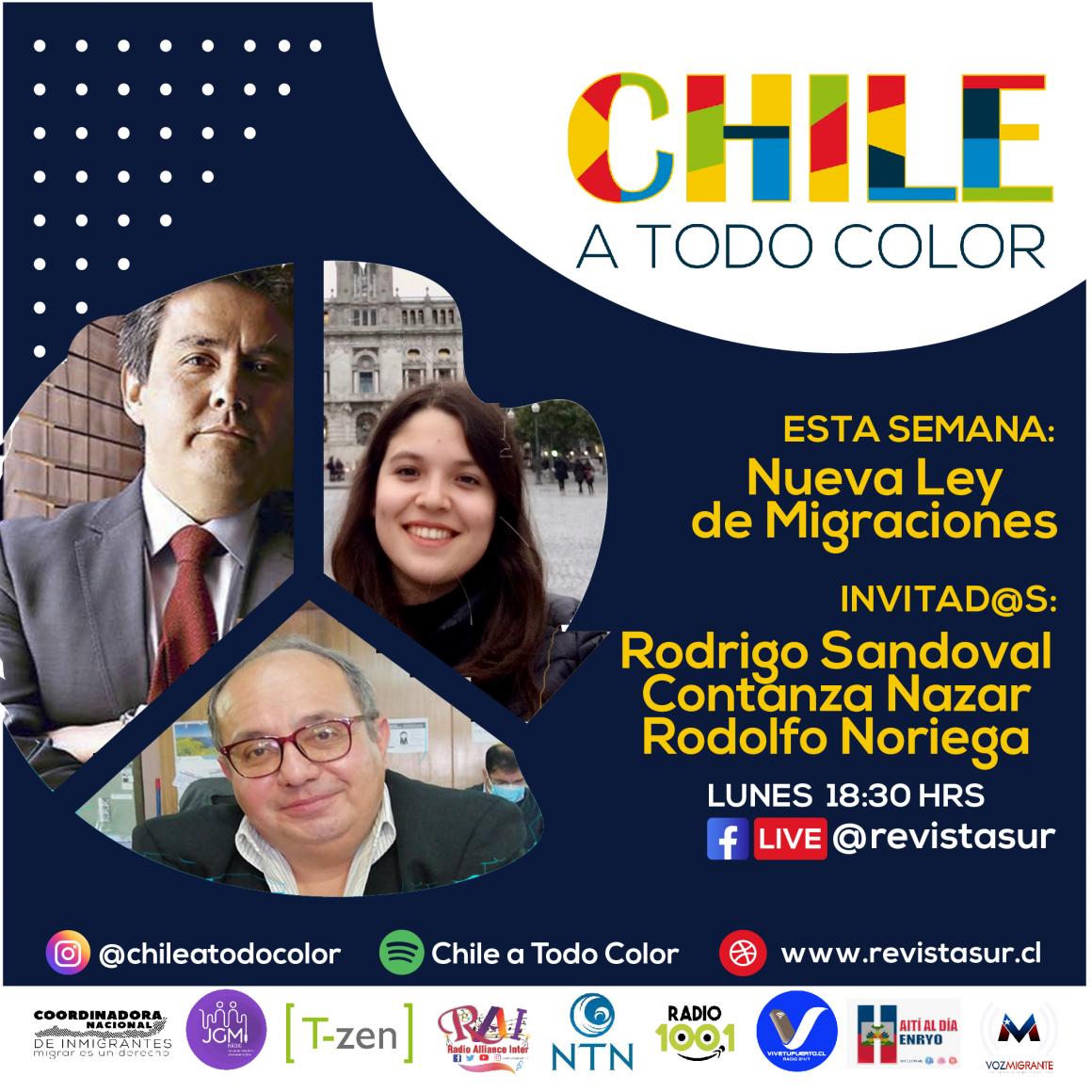 Chile a Todo Color: Ley de Migraciones