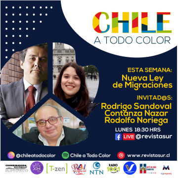 Chile a Todo Color: Ley de Migraciones